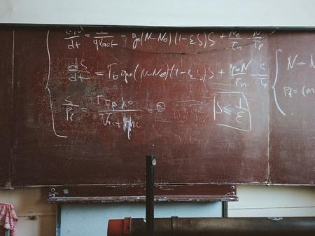 方程式の写真